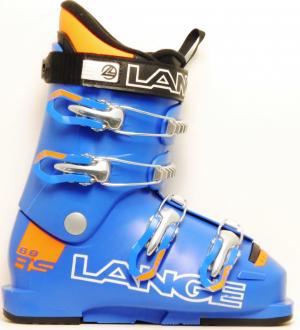 Detské lyžiarky BAZÁR Lange RSJ 60 blue orange 265