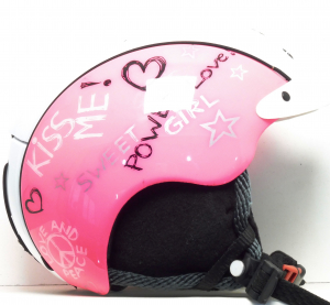 Lyžiarska prilba BAZÁR Casco Mini Pro Pink S 50-55