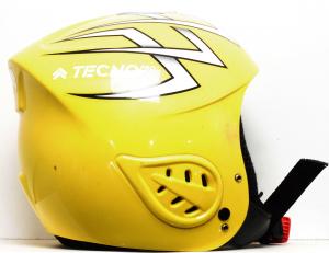 Lyžiarska prilba BAZÁR Tecno Pro yellow 48-50