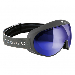 Lyžiarske okuliare Indigo Voggle Mirror Blue Titan