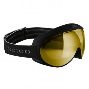 Lyžiarske okuliare Indigo Voggle Mirror Gold Black