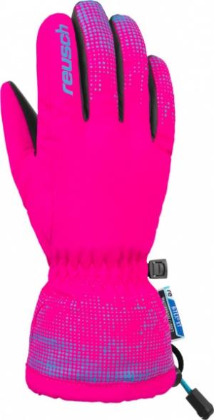 Detské lyžiarske rukavice Reusch Xaver R-TEX XT pink/bachelor button
