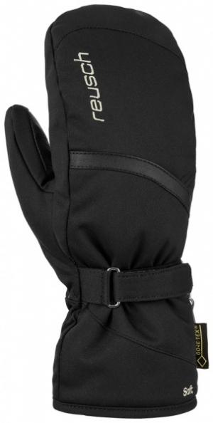 Dámske lyžiarske rukavice Reusch Alexa GTX mitten black/silver