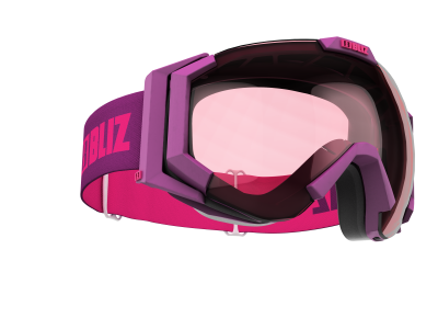 Lyžiarske okuliare Bliz Carver SR magenta/pink