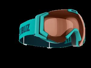 Lyžiarske okuliare Bliz Carver SF turquise/orange