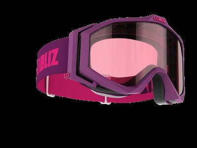 Lyžiarske okuliare Bliz Edge magenta/pink