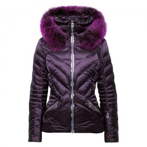 Lyžiarska bunda Toni Sailer CLEMENTINE FUR Purple Night