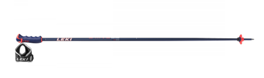 Lyžiarske palice Leki Spitfire S blue metallic/wh neon red