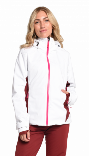 Lyžiarska bunda Obermeyer Mai Jacket White