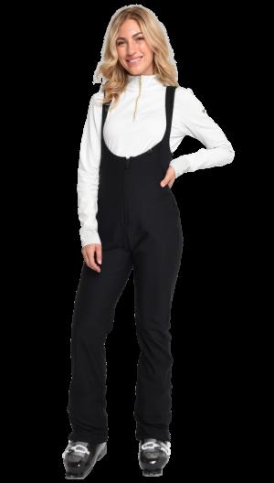 Lyžiarske nohavice Obermeyer Snell OTB Softshell Pant Black Short