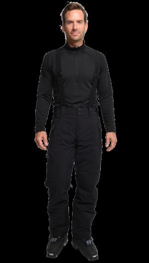Lyžiarske nohavice Obermeyer Force Suspender Pant Black Long