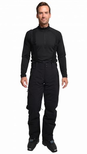 Lyžiarske nohavice Obermeyer Force Suspender Pant Black Regular