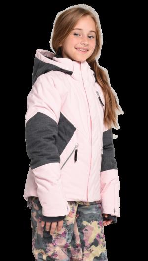 Detská lyžiarska bunda Obermeyer Teen Girls Rayla Jacket Demi Pink