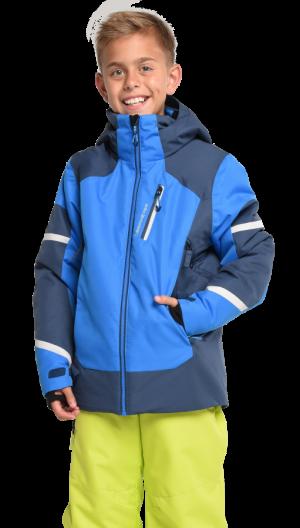 Detská lyžiarska bunda Obermeyer Teen Boys Outland Jacket Stellar Blue