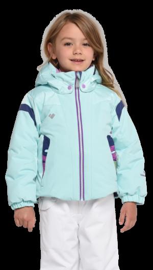 Detská lyžiarska bunda Obermeyer Kids Girls Twist Jacket Sea Glass