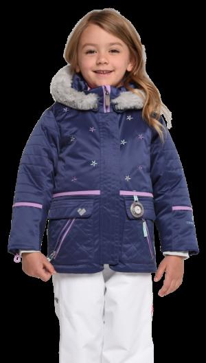 Detská lyžiarska bunda Obermeyer Kids Girls Lindy Jacket Pacifico