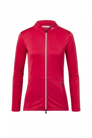 Funkčné oblečenie KJUS Women Milena Midlayer Jacket Crimson