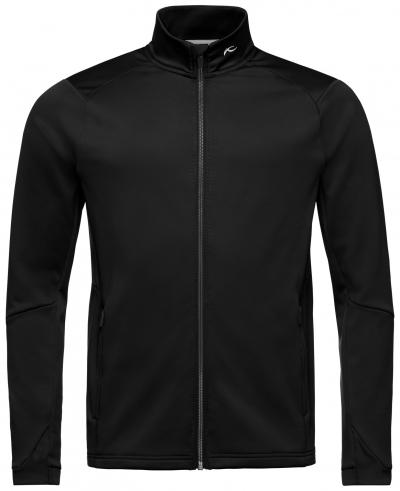 Lyžiarska flísová mikina KJUS Men Diamond Fleece Midlayer Jacket Black