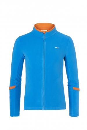 Detské funkčné oblečenie KJUS Boys Charger Midlayer Jacket Aquamarine Blue