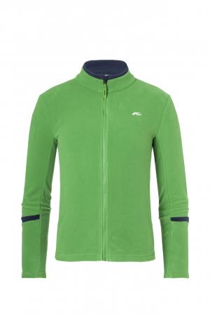 Detské funkčné oblečenie KJUS Boys Charger Midlayer Jacket Green Leaf
