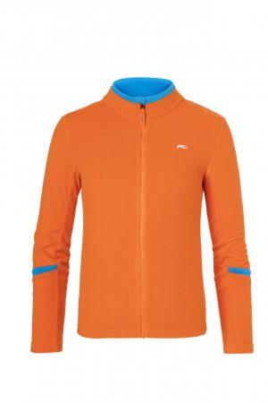 Detské funkčné oblečenie KJUS Boys Charger Midlayer Jacket Kjus Orange