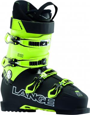 Lyžiarky Lange XC 100 black/lime