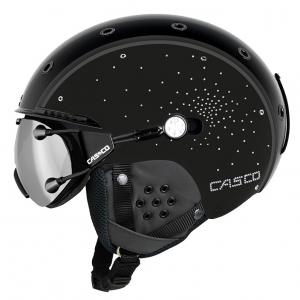 Lyžiarska prilba Casco SP-3 Limited Crystal black