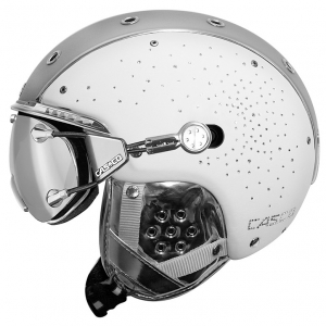 Lyžiarska prilba Casco SP-3 Limited Crystal white