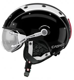 Lyžiarska prilba Casco SP-3 Comp black/white