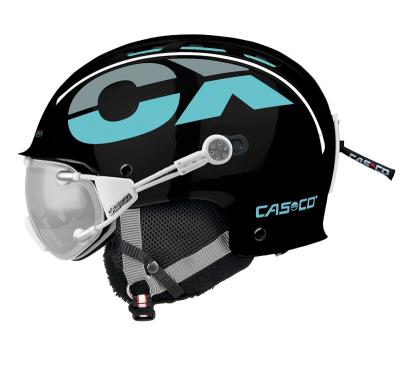 Lyžiarska prilba Casco CX-3 black/blue