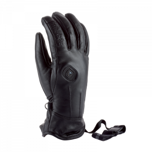 Lyžiarske rukavice s ohrevom Therm-ic Powergloves Leather Ladies Black