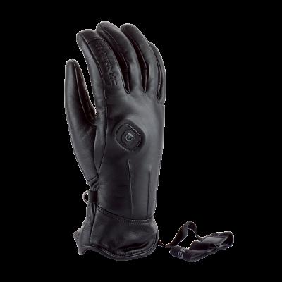 Lyžiarske rukavice s ohrevom Therm-ic Powergloves Leather Ladies Black