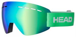 Lyžiarske okuliare Head Solar FMR green