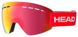 Lyžiarske okuliare Head Solar FMR red