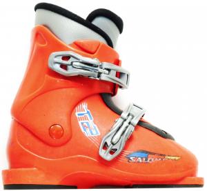Detské lyžiarky BAZÁR Salomon T2 Red 200