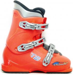 Detské lyžiarky BAZÁR Salomon T3 245