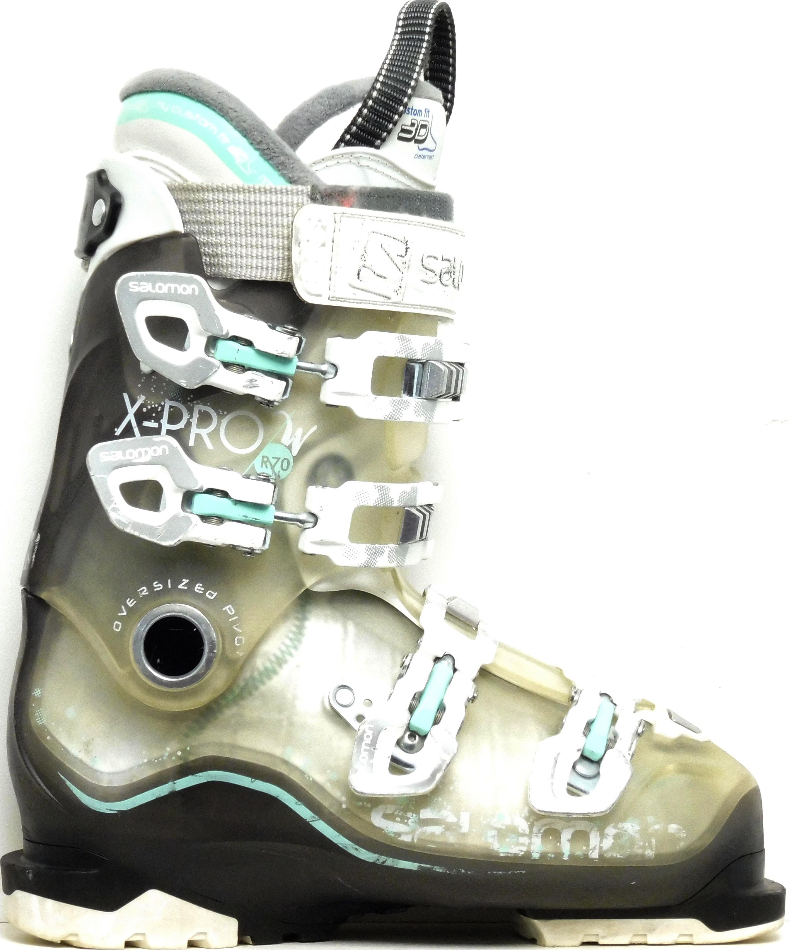 Salomon Dámske lyžiarky BAZÁR Salomon X-Pro R70 W 250 b98651801b9