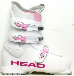 Detské lyžiarky BAZÁR Head Z3 white/pink 240
