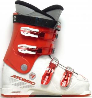 Detské lyžiarky BAZÁR Atomic IJ 4 red/white 245