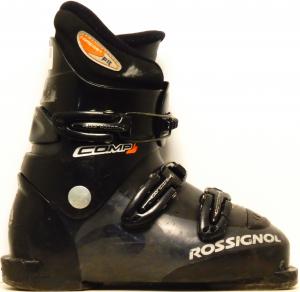 Detské lyžiarky BAZÁR Rossignol Comp J black 225