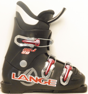 Detské lyžiarky BAZÁR Lange RSJ 50 black 195