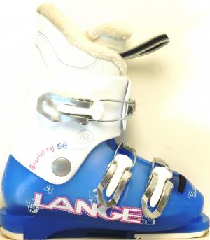 Detské lyžiarky BAZÁR Lange Starlet RSJ 50 blue 185