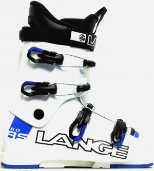 Detské lyžiarky BAZÁR Lange RS 60 white blue 225