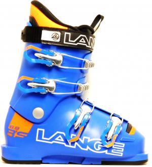 Detské lyžiarky BAZÁR Lange RS 60 power blue/orange 225