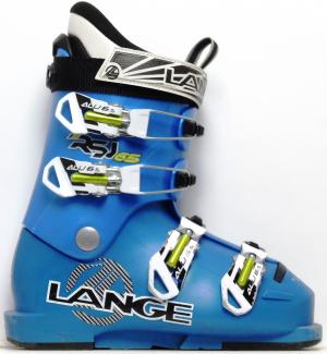 Detské lyžiarky BAZÁR Lange RSJ 65 blue 225