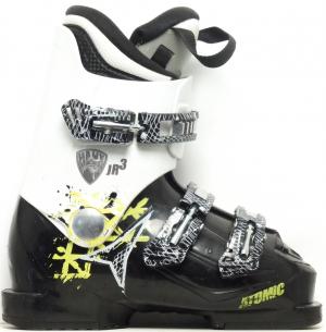 Detské lyžiarky BAZÁR Atomic Hawx JR 3 black/white 225