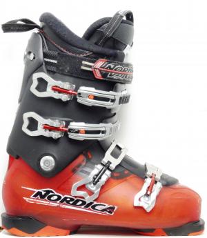 Pánske lyžiarky BAZÁR Nordica Black & Red 280