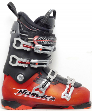 Pánske lyžiarky BAZÁR Nordica Black & Red 275