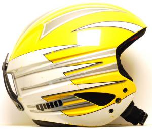 Lyžiarska prilba BAZÁR Giro yellow/silver/white 53-55