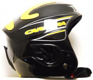 Lyžiarska prilba BAZÁR Carrera black/yellow 55